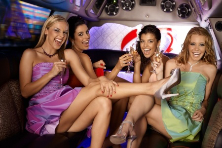 Neumann_Bachelorette_Party_Limo