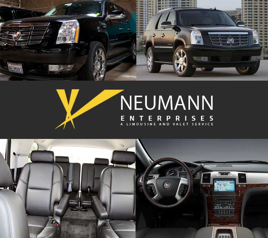 Cadillac Escalade Executive Suv Ad Banner by Neumann Enterprises