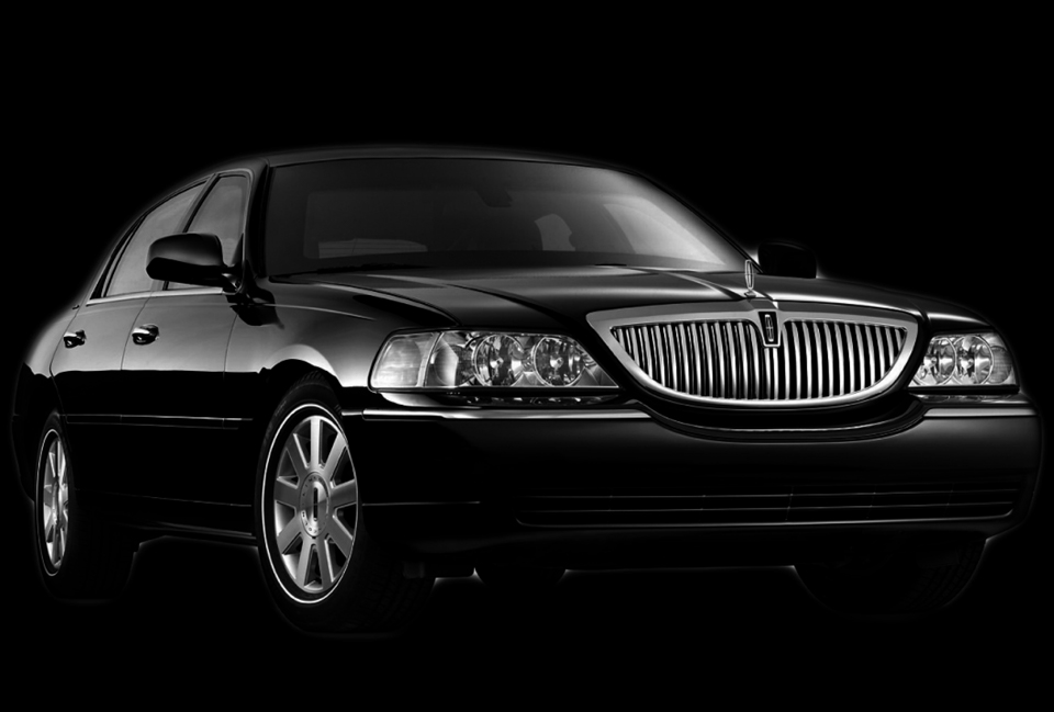 Lincoln Town Car Sedan Ad Banner by Neumann Enterprises