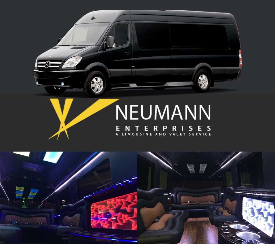 Mercedes-Benz Sprinter Luxury 12 Passenger Limo Banner Ads