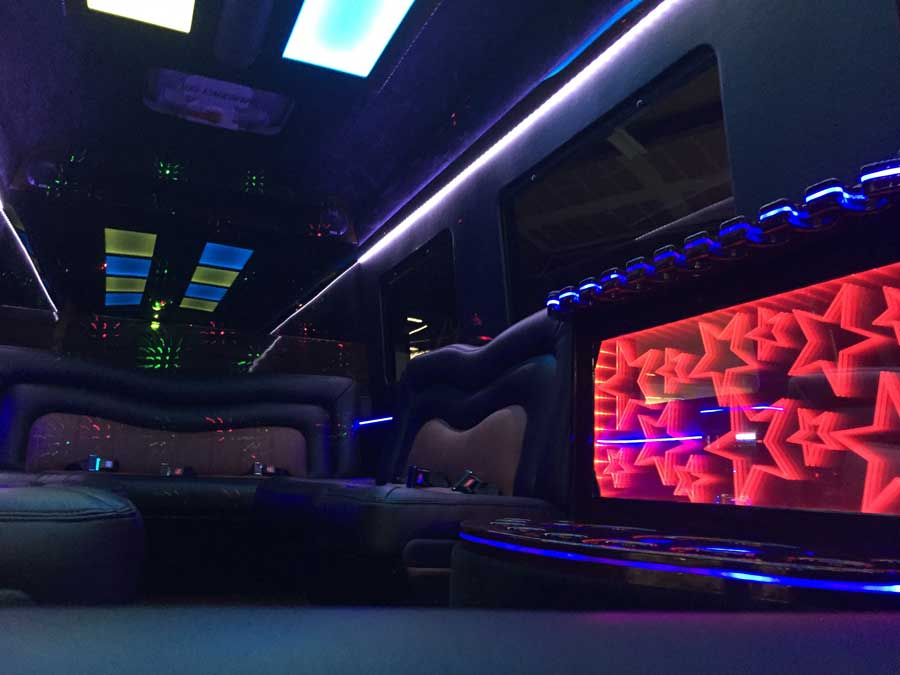 Mercedes-Benz Sprinter Luxury Interior 12 Passenger Limo in Sacramento, CA