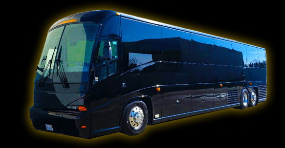 56 Passenger Luxury Bus Services by Neumann Enterprises