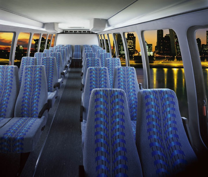 28 Passenger Shuttle Bus for Large Wedding Parties, Wine Tasting Excursions