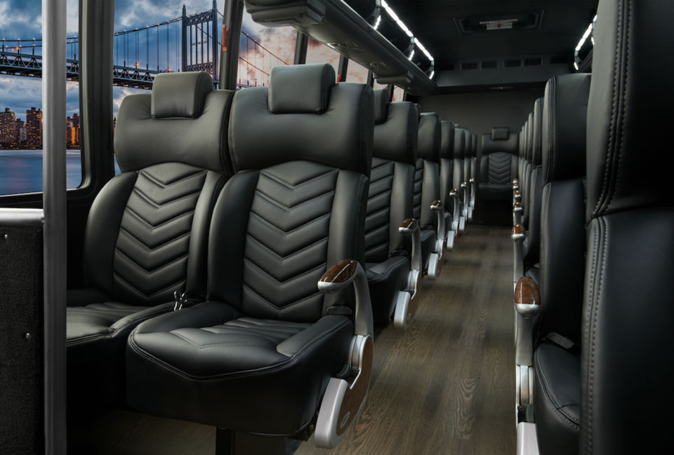 32-37 Passenger Grech Luxury Executive Shuttle in Sacramento, CA